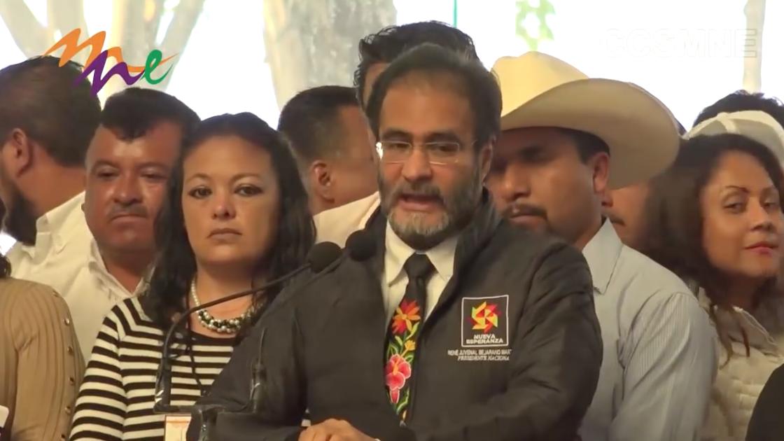 Mensaje del Prof. René Bejarano durante el Encuentro Nacional de Líderes del MNE
